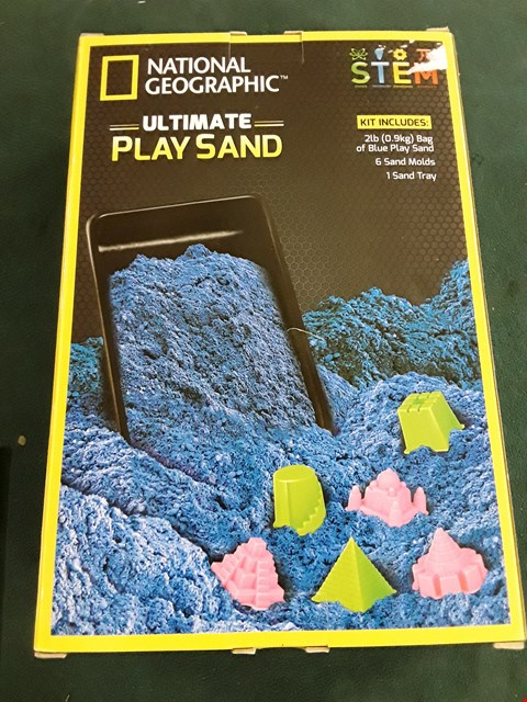 Lot 1084 NATIONAL GEOGRAPHIC ULTIMATE PLAY SAND