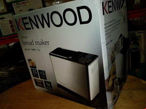 Lot 577 KENWOOD ARTISAN BREAD MAKER