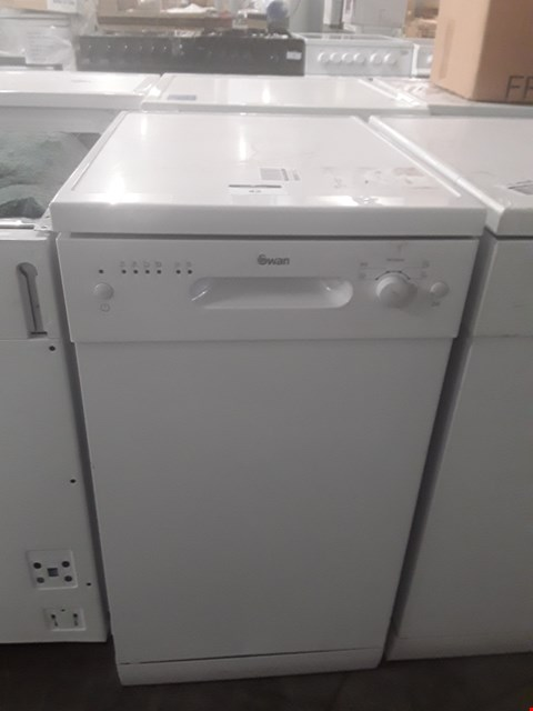 Lot 42 SWAN SDW7050W 9 PLACE SETTING SLIMLINE DISHWASHER RRP £229.99