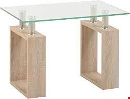 Lot 5011 BOXED MILAN GLASS CONSOLE TABLE (2 BOXES)