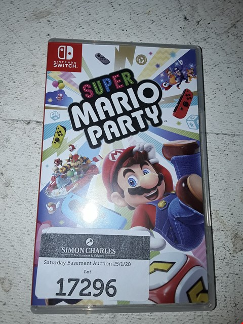 Lot 17296 SUPER MARIO PARTY FOR NINTENDO SWITCH