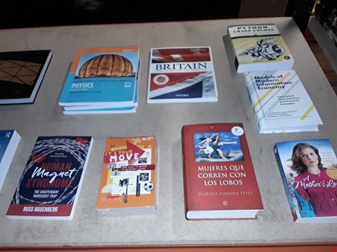 Lot 180 A LOT OF APPROXIMATELY 20 ASSORTED BOOKS TO INCLUDE,  THE COMPASSIONATE MIND WORKBOOK , THE HUMAN MAGNET SYNDROME AND A MOTHERS LOVE ETC