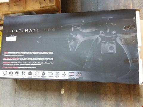 Lot 68 BOXED X ULTIMATE PRO DRONE