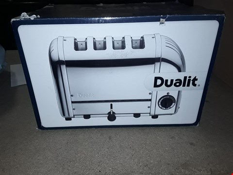 Lot 10249 DUALIT THE CLASSIC TOASTER