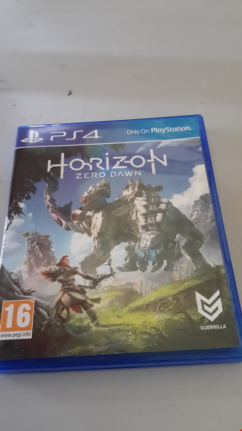 Lot 9023 HORIZON ZERO DAWN FOR PLAYSTATION 4
