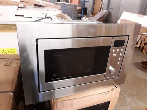 Lot 53 BUILT IN S/STEEL MICROWAVE OVEN WITH GRILL - BWM20SS