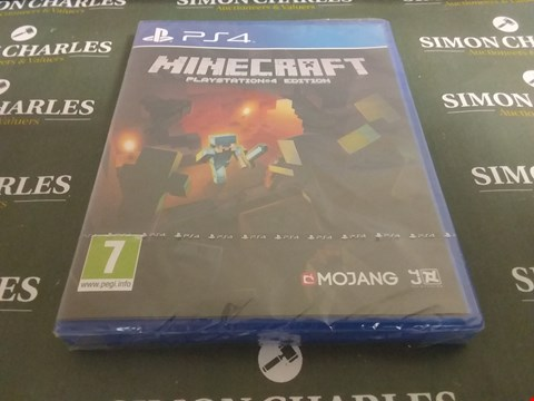 Lot 1063 MINECRAFT PLAYSTATION 4 GAME
