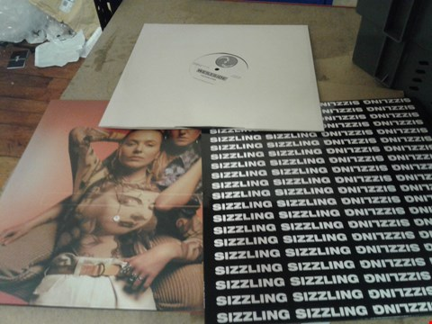 Lot 8319 A BOX OF ASSORTED VINYL RECORDS TO INCLUDE WESTSIDE THE EVOLUTION, A EMOTIONAL EDUCATION AND A SIZXLING ABULM