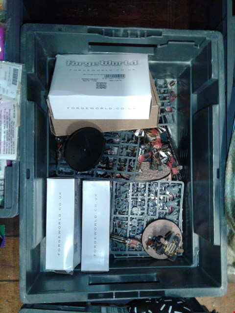 Lot 6024 BOX OF WARHAMMER FIGURES