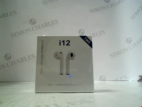 Lot 5688 BOXED TWS I12 EAR BUDS