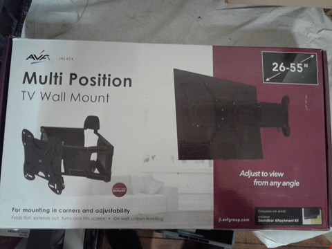 Lot 2085 AVF MULTI POSITION TV WALL MOUNT