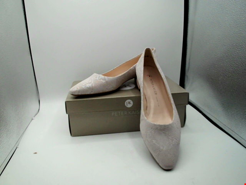 Lot 1127 BOXED PAIR OF DESIGNER PETER KAISAR SHOES - UK SIZE 7
