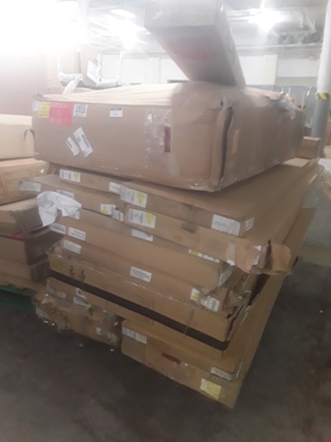 Lot 582 A PALLET OF ASSORTED FLATPACK FURNITURE PARTS