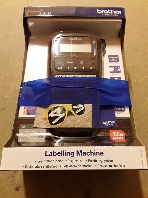 Lot 757 BROTHER PT-H110 LABEL PRINTER