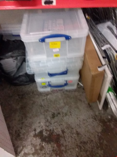 Lot 11638 LOT OF 5 STORAGE TUBS