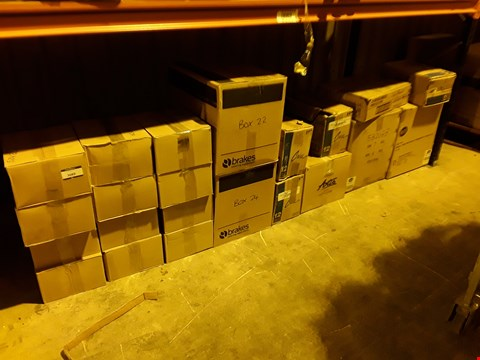 Lot 3089 SHELF OF APPROXIMATELY 22 BOXES OF ASSORTED CATERING & HOTEL WARE SUNDRIES