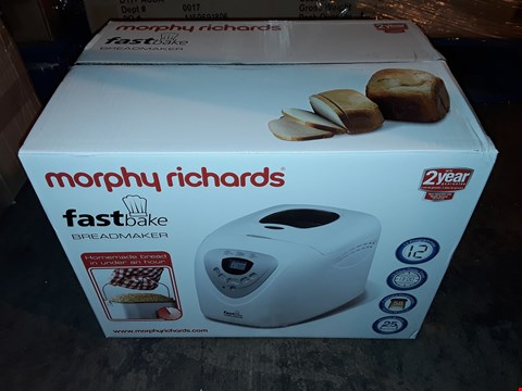 Lot 1047 MORPHY RICHARDS MULTI-USE FASTBAKE BREADMAKER
