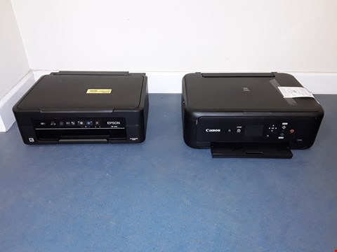 Lot 7020 LOT OF 3 ASSORTED PRINTERS TO INCLUDE 2X EPSON AND CANON