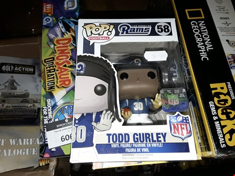 Lot 6068 POP FOOTBALL TODD GURLEY
