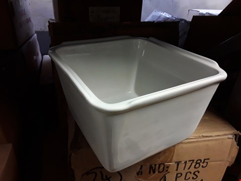 Lot 15136 SEVEN BOXED 1/6 MULTI PORTION WHITE DISHES