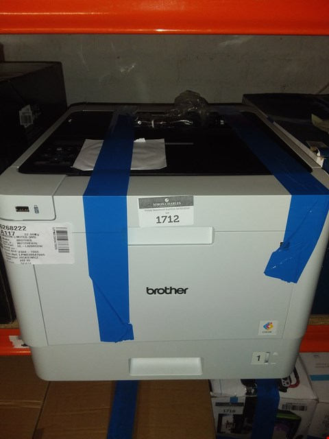 Lot 1712 BROTHER HL-L8260CDW PRINTER