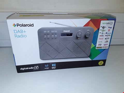 Lot 12 POLAROID DAB+ RADIO GREY