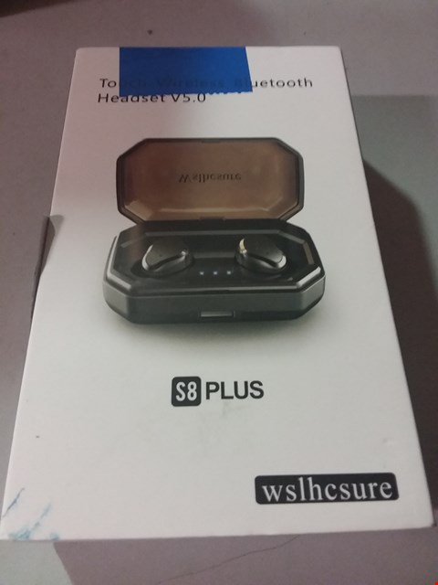 Lot 117 WSLHSURE TOUCH WIRELESS BLUETOOTH HEADSET