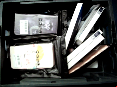 Lot 10624 BOX OF LARGE QUANTITY OF ASSORTED PHONE CASES