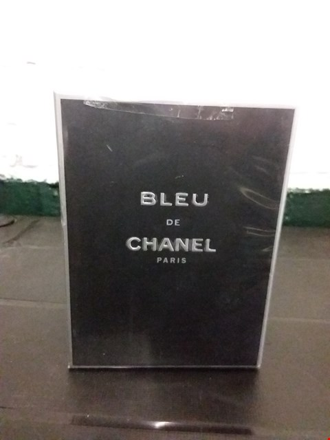 Lot 11019 BOXED CHANEL PARIS BLEU PARFUM POUR HOMME 100ML