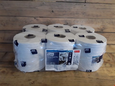 Lot 7194 TORK 6 PACK OF WIPING PAPER