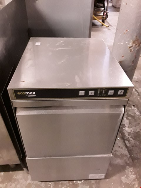 Lot 9051 COMMERCIAL STAINLESS STEEL HOBART GLASS WASHER