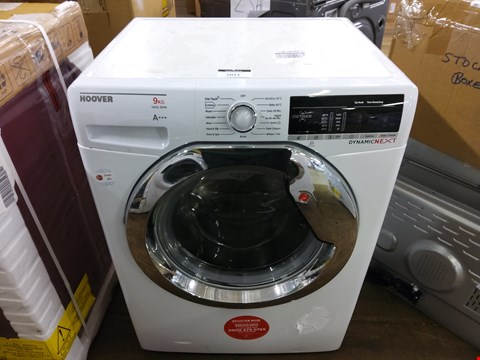 Lot 7021 HOOVER WHITE DYNAMIC NEXT 9KG 1400 RPM WASHING MACHINE DXOA49C3 RRP £329.99