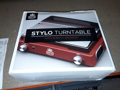 Lot 770 STYLO TURNTABLE WITH IN - BUILT SPEAKERS