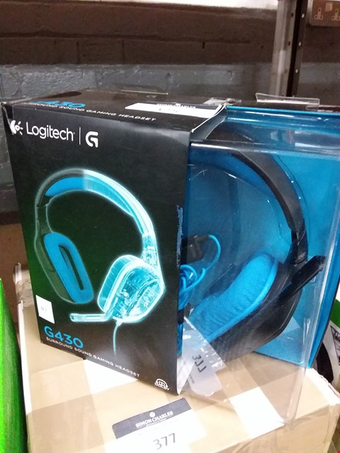 Lot 375 LOGITECH G430 SURROUND SOUND GAMING HEADSET (LOT 41)