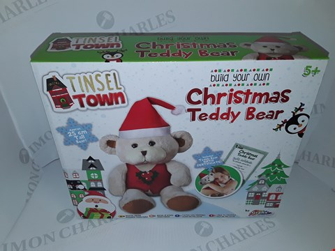 Lot 12081 LOT OF 12 AS NEW TINSEL TOWN BUILD YOUR OWN TEDDY BEAR SETS