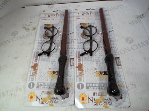 Lot 10077 PAIR OF HARRY POTTER ACCESSORY KITS RRP £26.00