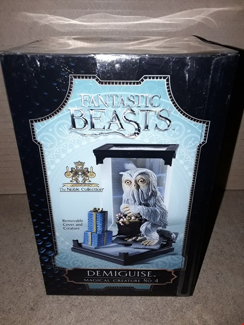 Lot 178 BOXED BRAND NEW FANTASTIC BEASTS DEMIGUISE MAGICAL CREATURE NO.4