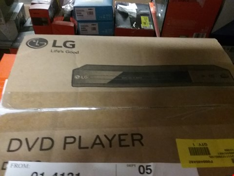 Lot 1094 2 × BOXED DP132 LG DVD PLAYERS