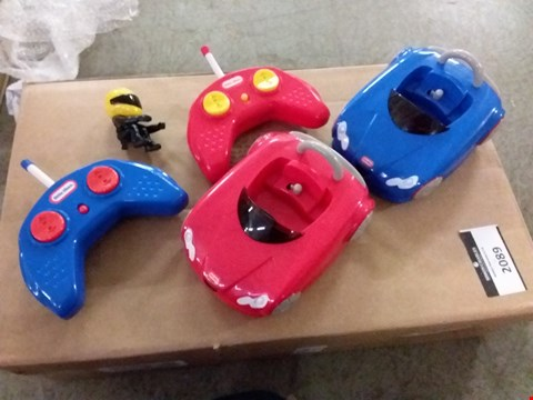 Lot 2089 LITTLE TYKES R/C BUMPER CARS RRP £47.99