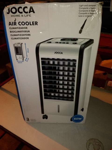 Lot 5523 JOCCA 2227U 3-IN-1 ICE/WATER AIR COOLER/HUMIDIFIER