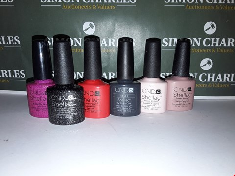 Lot 54 LOT OF 6 ASSORTED CND NAIL PRODUCTS