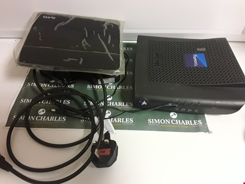 Lot 1579 SATELLITE RECEIVER AND ROUTER