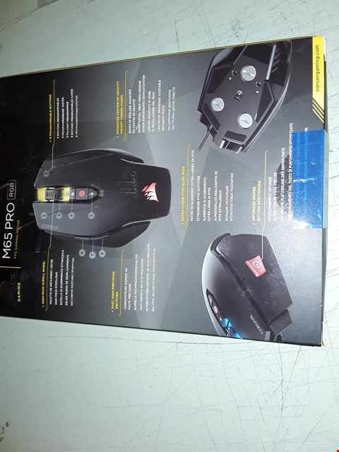 Lot 4319 CORSAIR VENGEANCE M60 MOUSE