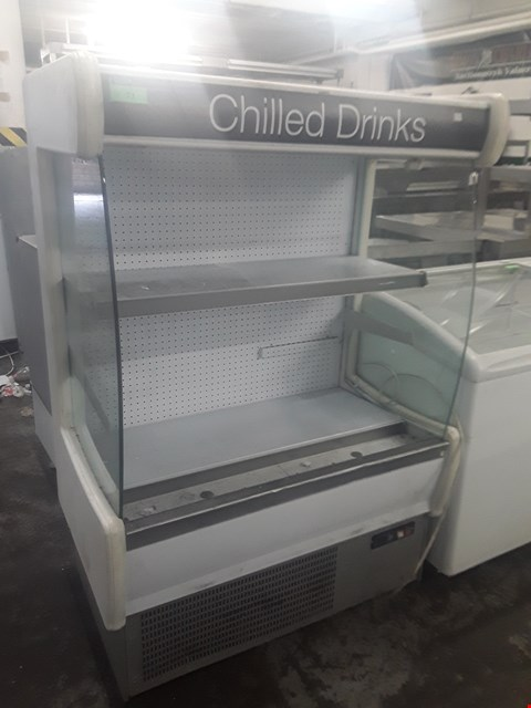 Lot 71 TWO TIERED CHILLED DRINKS DISPLAY UNIT