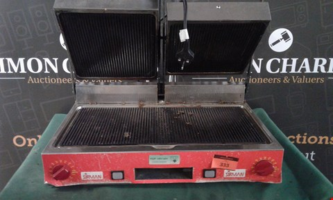 Lot 141 SIRMAN PANINI GRILL COMMERCIAL