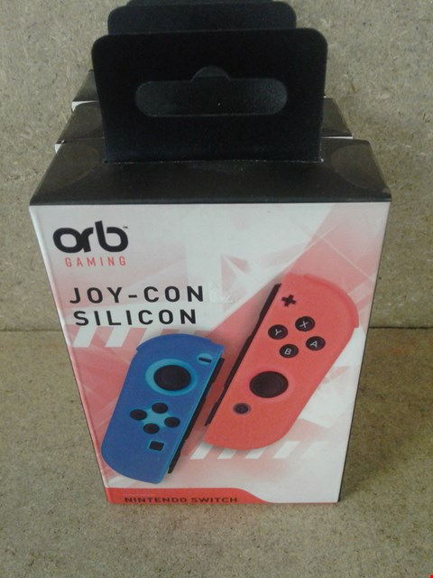 Lot 232 3 BRAND NEW BOXED ORB GAMING JOY-CON SILICON COMPATIBLE FOR A NINTENDO SWITCH