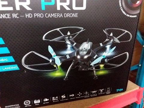 Lot 13898 VIPER PRO DRONE WITH HD CAMERA