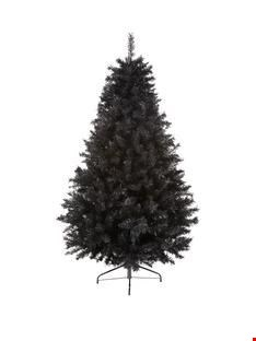 Lot 1082 BRAND NEW BOXED 6FT BLACK REGAL FIR TREE (1 BOX) RRP £59