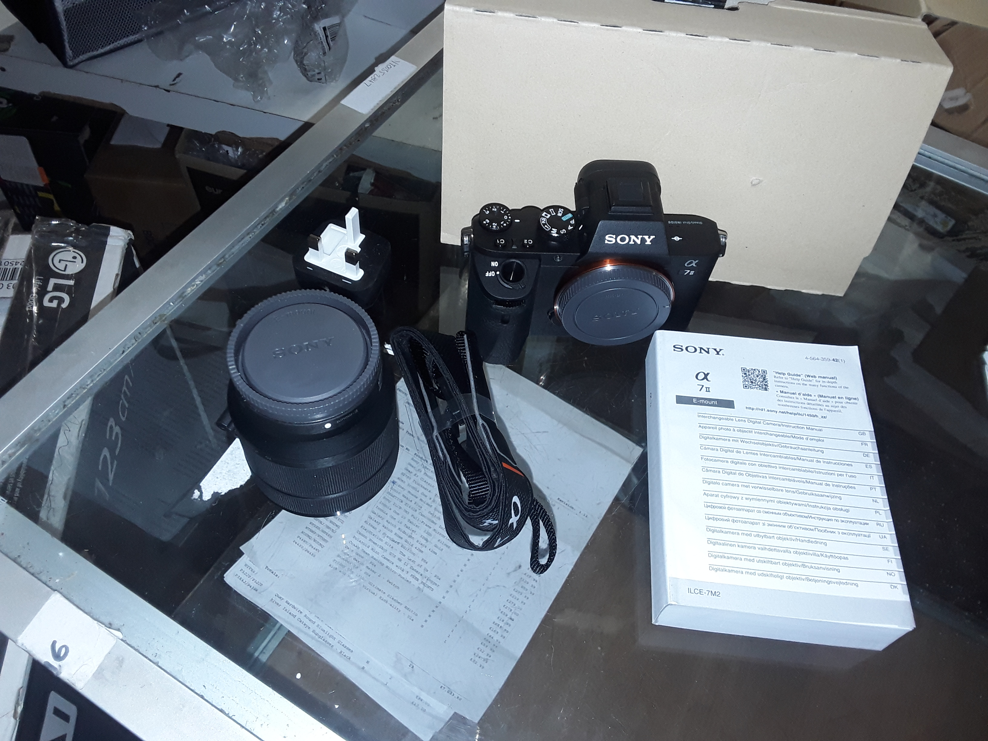 Lot 80: SONY A7 MKII COMPACT SYSTEM CAMERA WITH