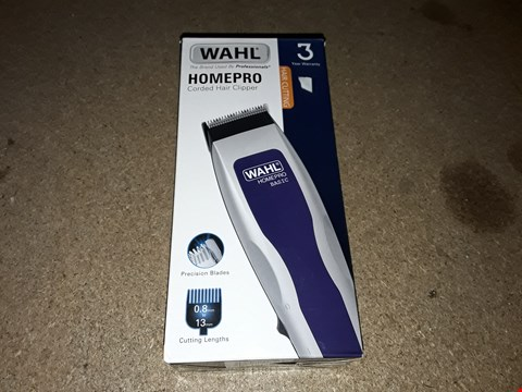 Lot 244 WAHL HOMEPRO CORDED HAIR CLIPPER